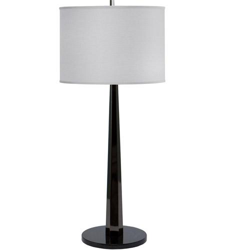Thumprints 1091 Asl 2107 Obsidian 35 Inch 150 Watt Black Nickel Table Lamp Portable Light