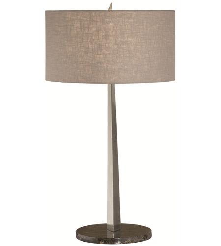 Thumprints 1093 ASL 2057 Tigers Eye 32 Inch 150 Watt Brushed Nickel Table  Lamp