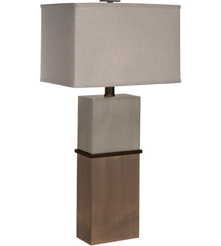 Thumprints 1127-ASL-2094 Taurus 30 inch 150 watt Brushed Nickel,Antique Copper,Dark Bronze Table Lamp Portable Light photo