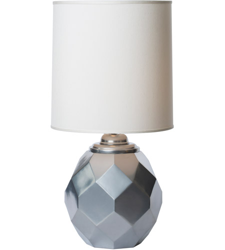 Thumprints 1166-ASL-2123 Silvadillo 20 inch 150 watt Metallic Silver Table Lamp Portable Light photo