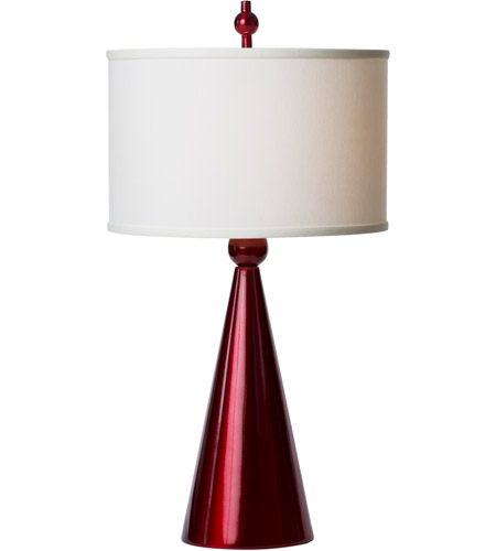 Thumbprints Jolly Pop 1 Light Table Lamp in Metallic Red 1182-ASL-2134 photo