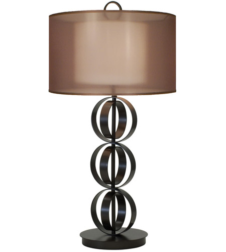 Table Lamp In Mahogany Bronze 1237 Asl