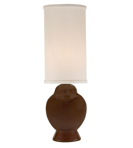 Thumprints Ginger 1 Light Mini Lamp in Glazed Chocolate 1141-ASL-2103 photo