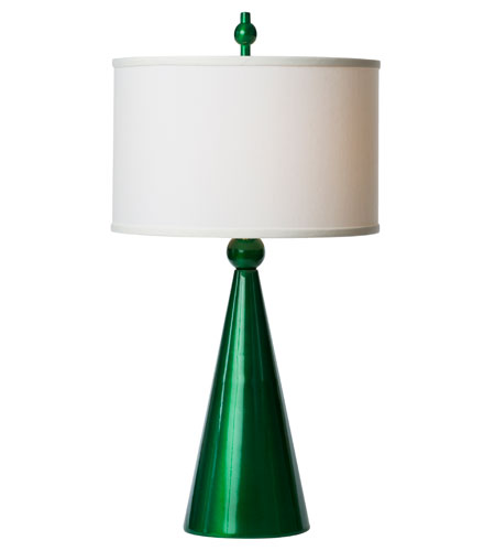 Thumprints Jolly Pop 1 Light Table Lamp in Metalic Green 1183-ASL-2134 photo