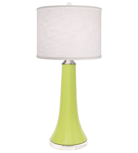 Thumprints 1147-ASL-2108 Juicy 30 inch 150 watt High Gloss Lime Table Lamp Portable Light photo