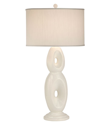 Thumprints Loop 1 Light Table Lamp in Glazed White 1137-ASL-2101 photo