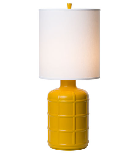 Thumprints Orleans 1 Light Table Lamp in High Gloss Yellow 1171-ASL-2125 photo