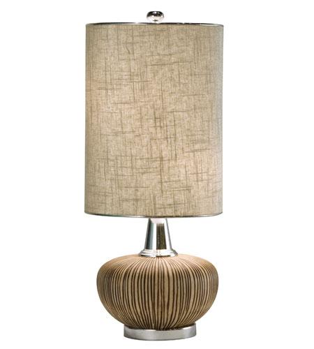 Thumprints Sahara 2 Light Table Lamp in Brown & Tan 1082-ASL-2046 photo