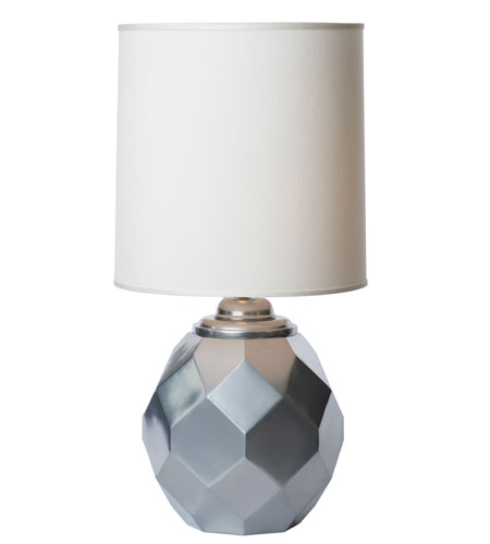 Thumprints Silvadillo 1 Light Table Lamp in Metalic Silver 1166-ASL-2123 photo