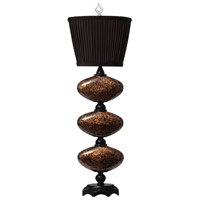 Thumbprints Marilyn 1 Light Table Lamp in Black w/Gold Glitter,Satin Black 1035-C06-TL01