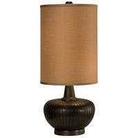 Thumprints 1110-C10-2077 Graphite 27 inch 60 watt Satin Graphite Table Lamp Portable Light