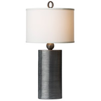 Reflection 32 inch 100 watt Pewter Table Lamp Portable Light