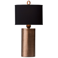 Thumbprints Mirage 1 Light Table Lamp in Copper 1165-ASL-2121