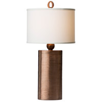 Mirage 32 inch 100 watt Copper Table Lamp Portable Light