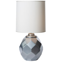 Thumprints 1166-ASL-2123 Silvadillo 20 inch 150 watt Metallic Silver Table Lamp Portable Light photo thumbnail
