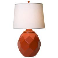 Thumprints 1167-ASL-2124 Jewel 24 inch 150 watt Satin Poppy Table Lamp Portable Light