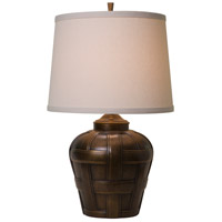 Thumbprints Ashbury 1 Light Table Lamp in Antique Bronze 1176-ASL-2128