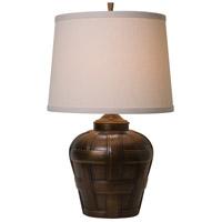Thumprints 1176-ASL-2128 Ashbury 23 inch 150 watt Antique Bronze Table Lamp Portable Light