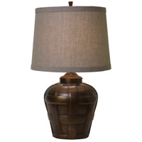 Ashbury 23 inch 150 watt Antique Bronze Table Lamp Portable Light