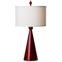 Jolly Pop 32 inch 150 watt Metallic Red Table Lamp Portable Light