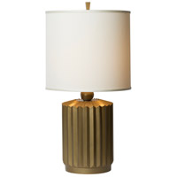 Starburst 27 inch 150 watt Gold Matte Table Lamp Portable Light