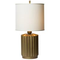 Thumprints 1203-ASL-2136 Starburst 27 inch 150 watt Gold Matte Table Lamp Portable Light