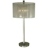 Thumprints 1251-ASL-2173 Noelle 32 inch 60 watt Brushed Nickel Table Lamp Portable Light