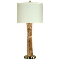 Olympia 29 inch 150 watt Copper w/Polished Nickel Table Lamp Portable Light