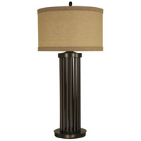 Thumprints Empire 1 Light Table Lamp in Mahogany Bronze 1256-ASL-2174