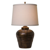 Thumprints Ashbury 1 Light Table Lamp in Antique Bronze Finish 1176-ASL-2128