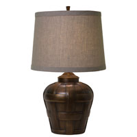 Thumprints Ashbury 1 Light Table Lamp in Antique Bronze Finish 1176-ASL-2129