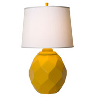 Thumprints Jewel 1 Light Table Lamp in High Gloss Yellow 1169-ASL-2124