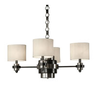 Thumprints Manhattan 4 Light Chandelier in Oil Rubbed Bronze 1117-C10-2084