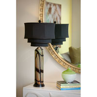 Thumbprints Pisa Table Lamp in Black 1016-C05-TL01 photo thumbnail