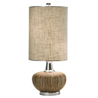 Thumprints Sahara 2 Light Table Lamp in Brown & Tan 1082-ASL-2046