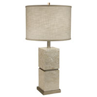 Thumprints Seaside 1 Light Table Lamp in Mother of Pearl 1108-ASL-2072