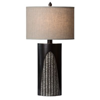 Thumprints Troy 1 Light Table Lamp in Oil Rubbed Bronze 1181-ASL-2133