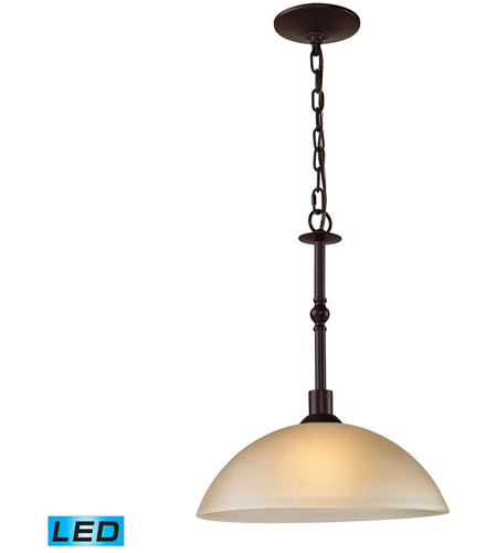 Thomas lighting 1301pl 10 led jackson led 14 inch oil rubbed bronze pendant ceiling light