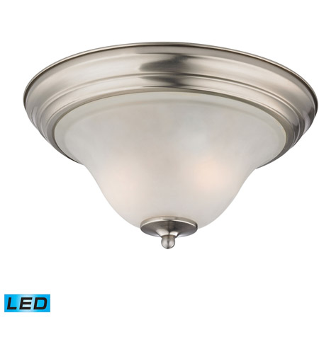 Thomas Lighting 1402fm 20 Led Kingston 13 Inch Brushed Nickel Flush Mount Ceiling Light