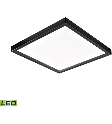 Thomas Lighting CL791431 Ceiling Essentials Titan LED 8 inch Oil Rubbed Bronze Flush Mount Ceiling Light, Square photo thumbnail