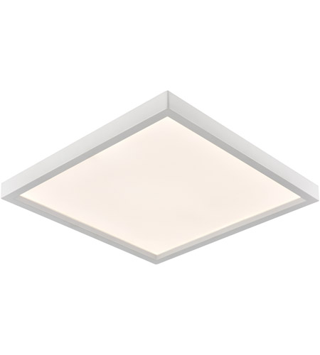 Thomas Lighting CL791734 Ceiling Essentials Titan LED 15 inch White Flush Mount Ceiling Light, Square photo thumbnail