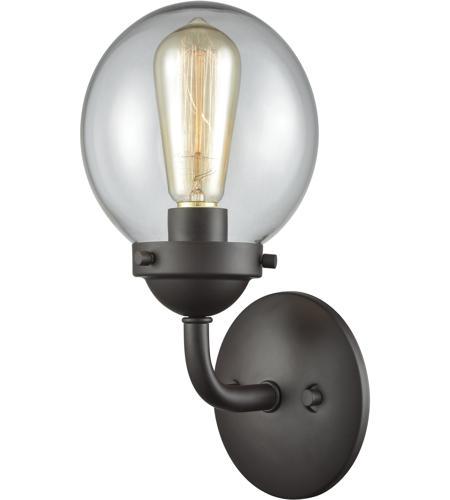 Thomas Lighting Cn129121 Beckett 1 Light 7 Inch Oil Rubbed Bronze Vanity Wall