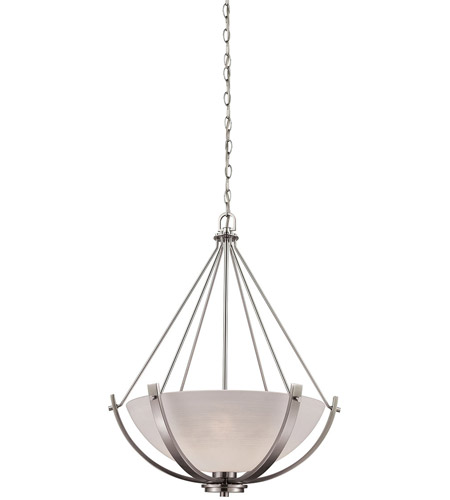 Thomas lighting cn170342 casual mission 3 light 21 inch brushed thomas lighting cn170342 casual mission 3 light 21 inch brushed nickel chandelier ceiling light aloadofball Choice Image