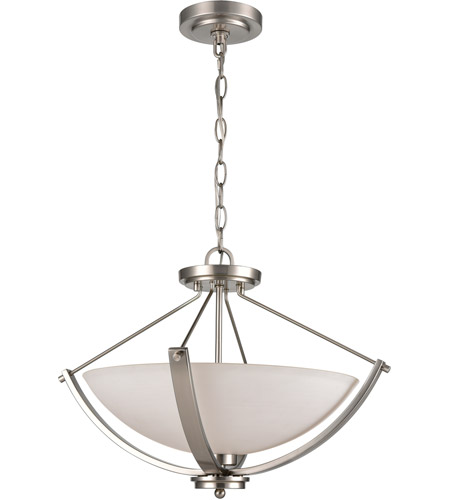 Thomas lighting cn170382 casual mission 3 light 20 inch brushed thomas lighting cn170382 casual mission 3 light 20 inch brushed nickel semi flush mount ceiling light aloadofball Choice Image