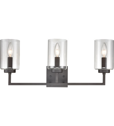 Thomas Lighting Cn240131 West End 3 Light 23 Inch Oil Rubbed Bronze Vanity Wall