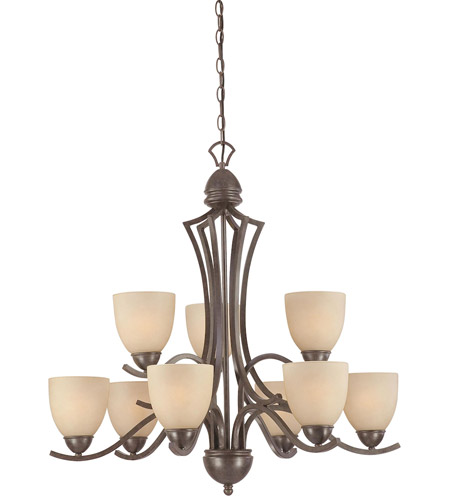 Thomas Lighting Sable Bronze Metal Chandeliers