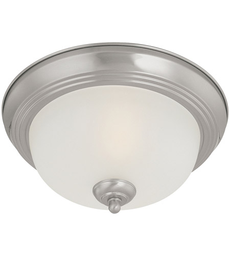 Thomas Lighting Sl878278 Pendenza 2 Light 13 Inch Brushed Nickel Flush Mount Ceiling