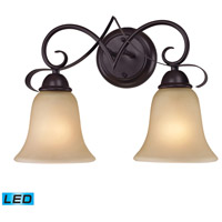 Brighton LED 15 inch Oil Rubbed Bronze Vanity Wall Light