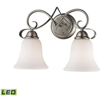 Brighton LED 15 inch Brushed Nickel Vanity Wall Light