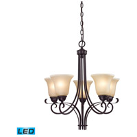 Brighton LED 22 inch Oil Rubbed Bronze Chandelier Ceiling Light